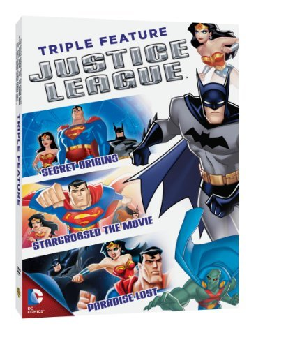 Justice League Triple Feature DVD Nr