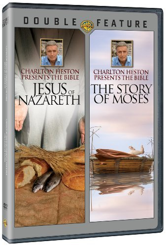 Charlton Heston Presents Jesus Of Nazareth & The Story Of Moses Double Feature DVD Nr