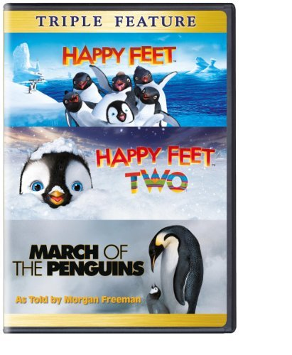 Happy Feet 1&2 March Of The Penguins Triple Feature DVD Nr
