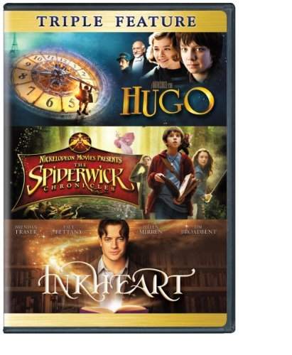 Hugo Spiderwick Chronicles Inkheart Triple Feature DVD Nr