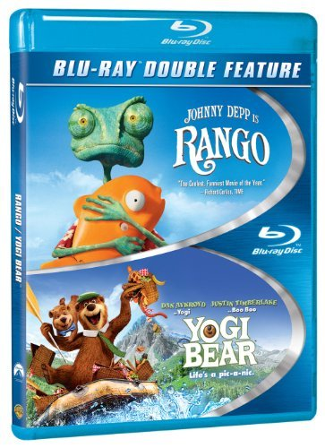 Rango Yogi Bear(2010) Double Feature Blu Ray Pg
