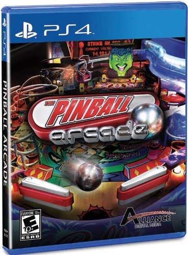 Ps4 Pinball Arcade Alliance Distributors E10+