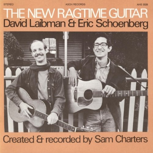 Laibman Schoenberg New Ragtime Guitar CD R