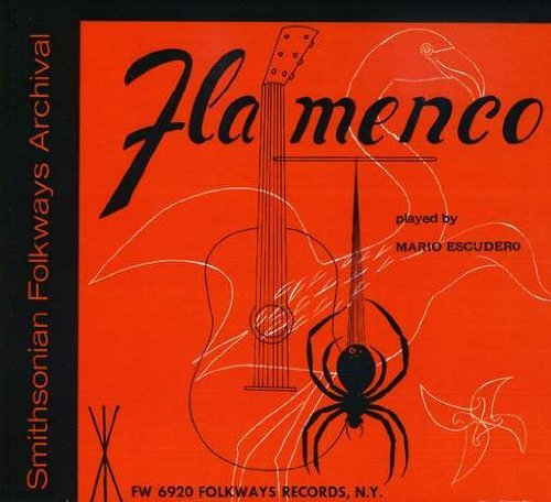 Mario Escudero Flamenco Guitar Solos CD R