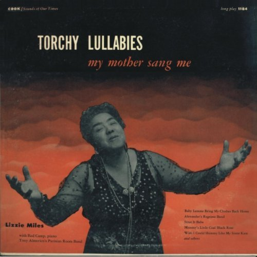 Lizzie Miles Torchy Lullabies My Mother San CD R