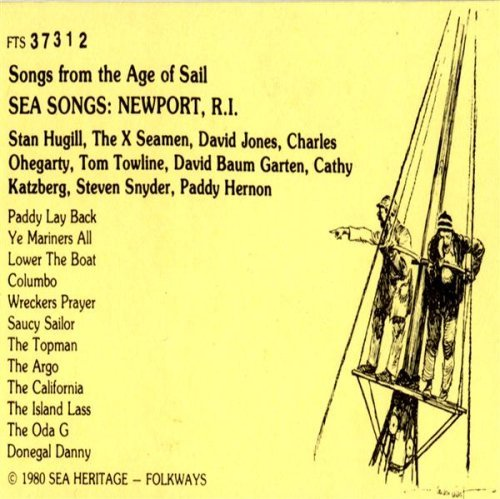 Stan Hugill Sea Songs Newport Rhode Islan CD R