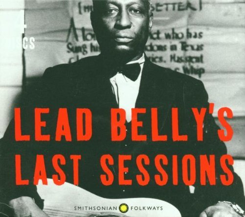 Leadbelly Last Sessions 4 CD Set