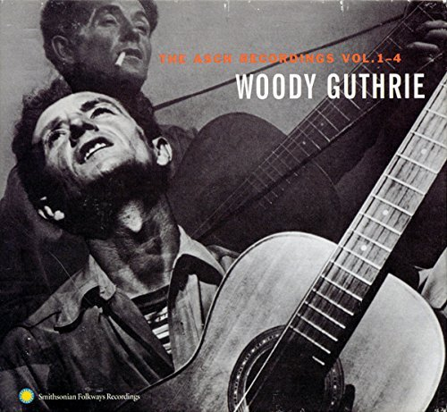 Woody Guthrie Vol. 1 4 Asch Recordings 4 CD Set