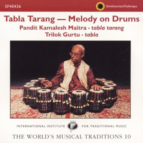 Maitra Gurtu Tabla Tarang Melody On Drums Incl. 56 Pg. Booklet