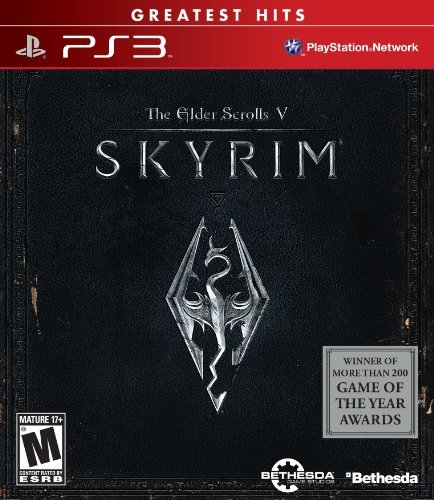 Ps3 Elder Scrolls Skyrim Bethesda Softworks Inc. M