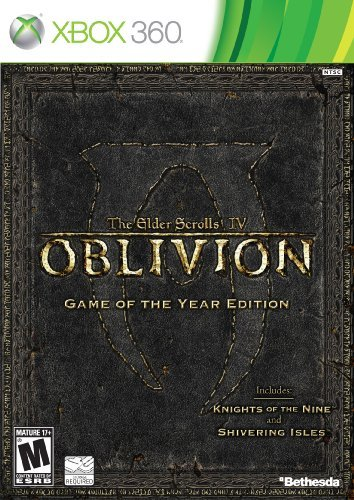 Xbox 360 Oblivion Game Of The Year Edition