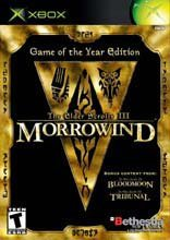 Xbox Elder Scrolls Morrowind (game Of The Year)
