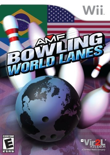 Wii Amf Bowling World Lanes
