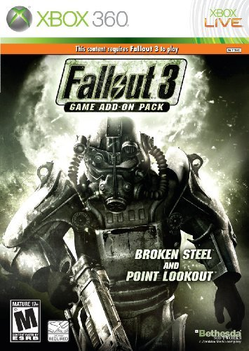 Xbox 360 Fallout 3 Expansion Pack Broken Steel & Point Look