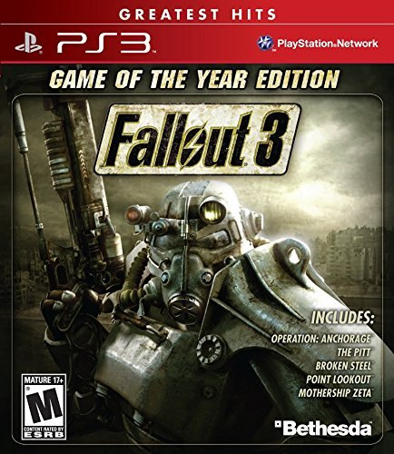 Ps3 Fallout 3 Game Of The Year Edition
