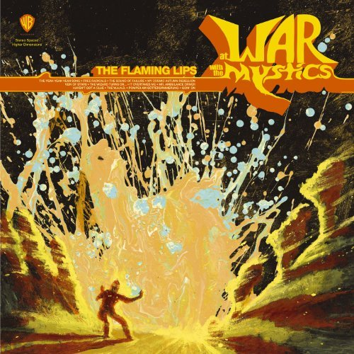 Flaming Lips At War With The Mystics Black Vinyl 2 Lp Set 180 Gr Vinyl