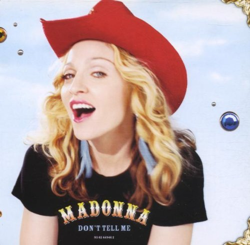 Madonna Don't Tell Me Pt. 1 Import Gbr