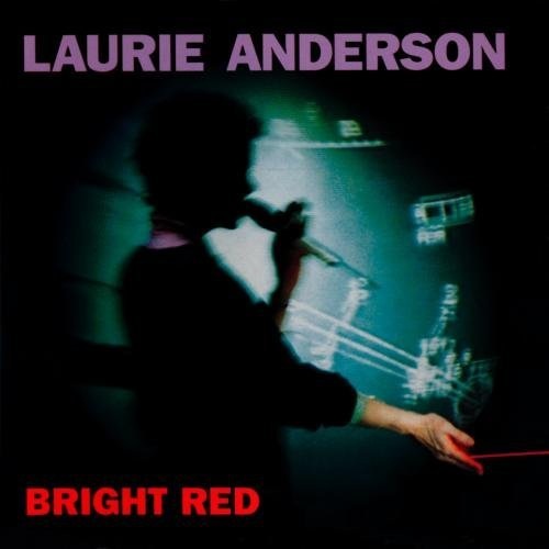 Laurie Anderson Bright Red CD R