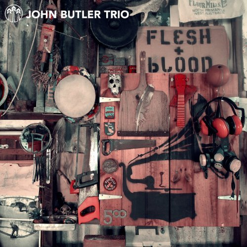 John Butler Flesh & Blood 2 Lp