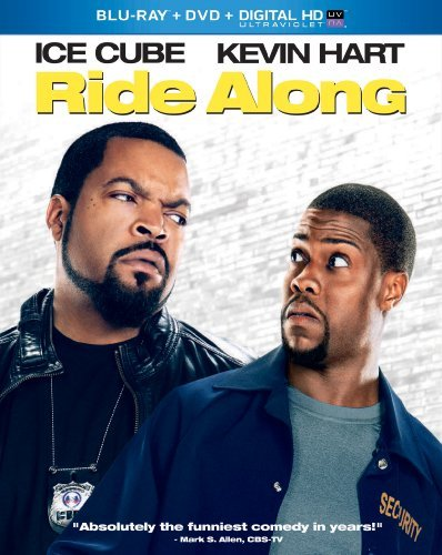 Ride Along Ice Cube Hart Blu Ray DVD Uv Pg13
