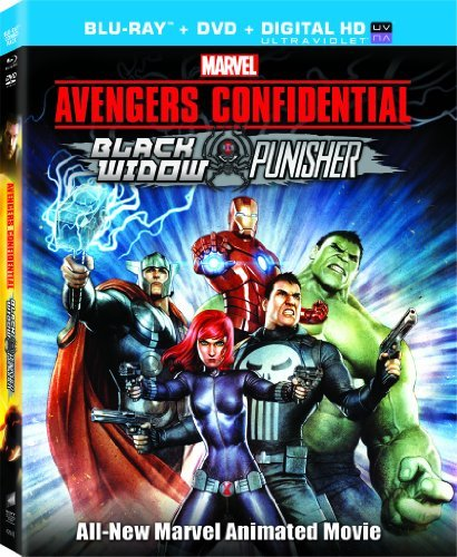 Avengers Confidential Black Widow Avengers Confidential Black Widow Blu Ray Uv Pg13 Ws