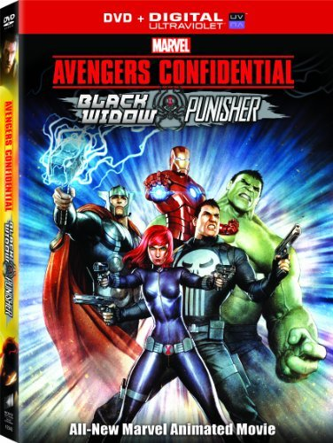 Avengers Confidential Black Widow & Punisher Avengers Confidential Black Widow & Punisher DVD Uv Pg13 Ws