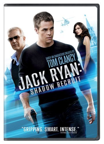 Jack Ryan Shadow Recruit Pine Knightley Costner Branagh DVD Pg13
