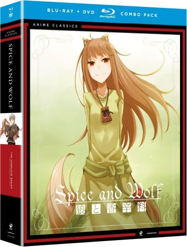 Spice & Wolf Complete Series Blu Ray DVD Tv14