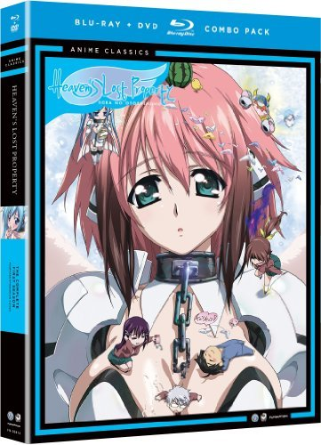 Heaven's Lost Property Season 1 Blu Ray DVD Adult Ws