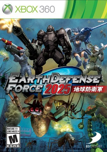 Xbox 360 Earth Defense Force 2025