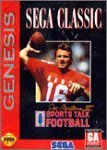 Sega Genesis Joe Montana Ii Sports Talk Football