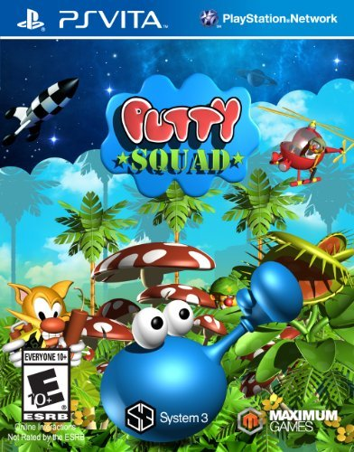 Playstation Vita Putty Squad