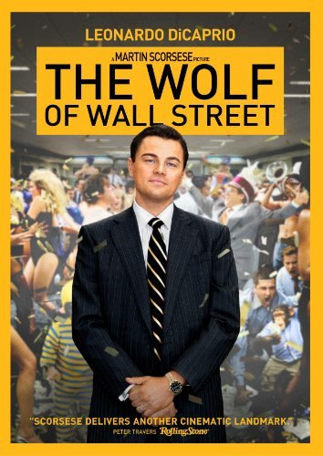 Wolf Of Wall Street Dicaprio Hill Mcconaughey DVD R Ws