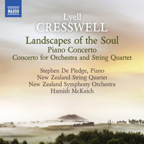 Cresswell De Pledge New Ze Landscapes Of The Soul De Pledge New Zealand String Q