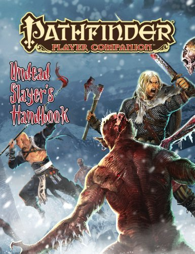 Paizo Staff Undead Slayer's Handbook
