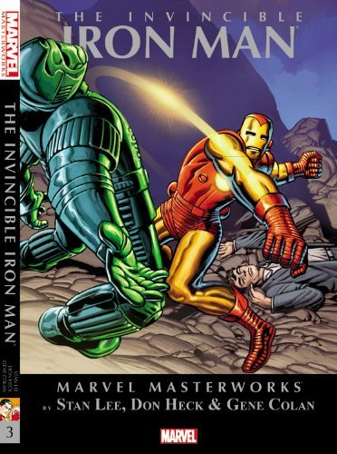 Stan Lee Marvel Masterworks The Invincible Iron Man Volume 3