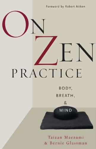 Hakuyu Taizan Maezumi On Zen Practice Body Breath And Mind