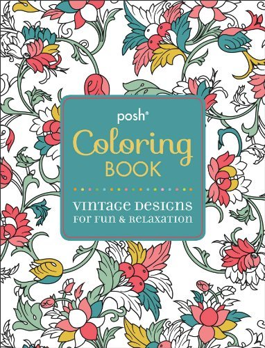 Andrews Mcmeel Publishing Vintage Designs For Fun & Relaxation