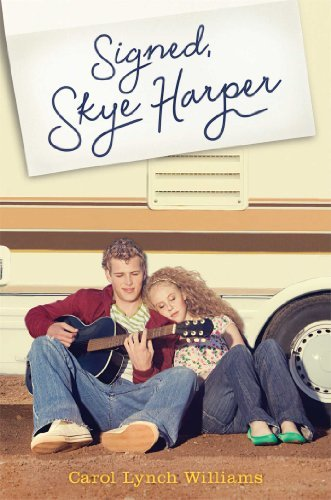 Carol Lynch Williams Signed Skye Harper