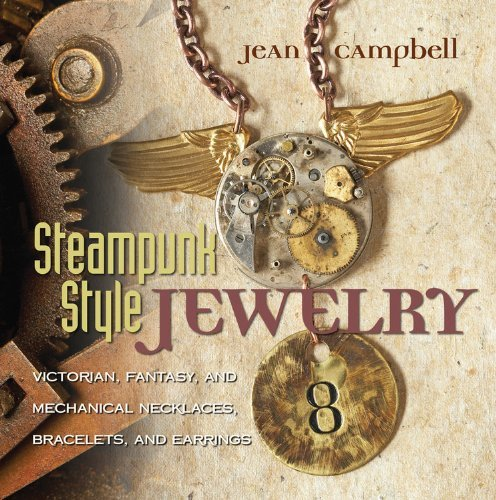 Jean Campbell Steampunk Style Jewelry Victorian Fantasy And Mechanical Necklaces Bra