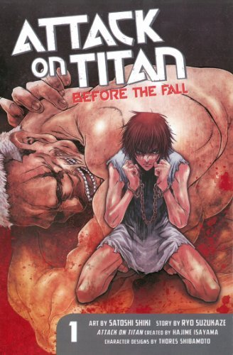 Satoshi Shiki Attack On Titan Before The Fall 1