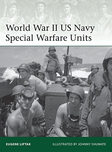 Eugene Liptak World War Ii Us Navy Special Warfare Units