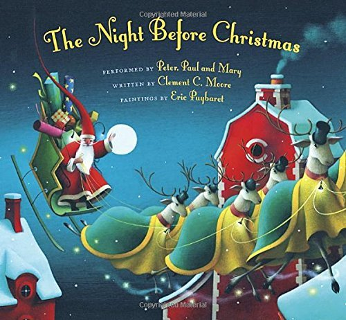 Peter Paul And Mary The Night Before Christmas [with CD (audio)]