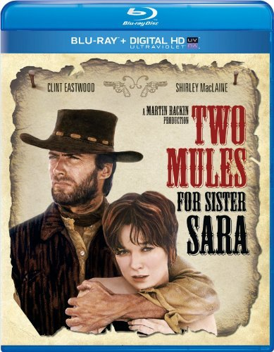 Two Mules For Sister Sarah Eastwood Maclaine Blu Ray Uv Pg Ws