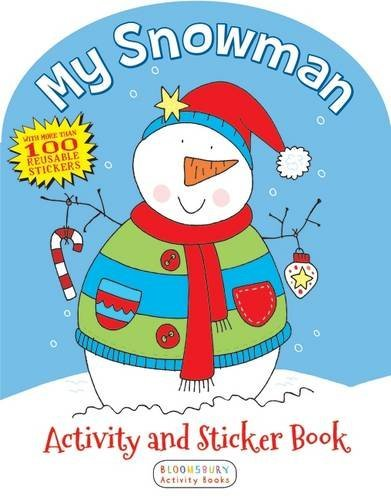 Anonymous My Snowman Activity And Sticker Book