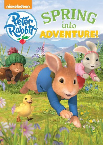 Peter Rabbit Spring Into Adventure Nickelodeon DVD Nr Ws