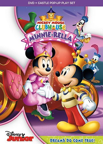 Mickey Mouse Clubhouse Minnie Rella DVD Tvy Ws