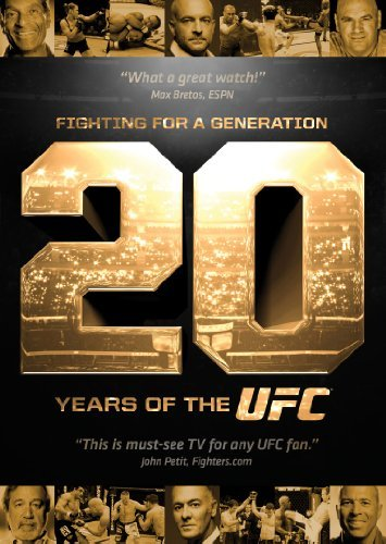 Ufc Fighting For A Generation 20 Years Of Ufc DVD Nr Ws