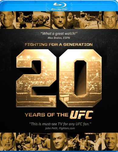 Ufc Fighting For A Generation 20 Years Of Ufc Blu Ray Nr Ws