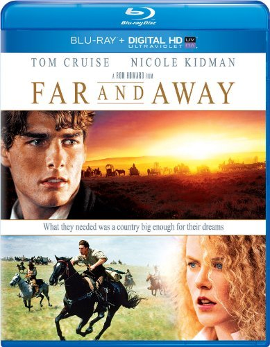 Far & Away Cruise Kidman Blu Ray Ws Pg13 Uv